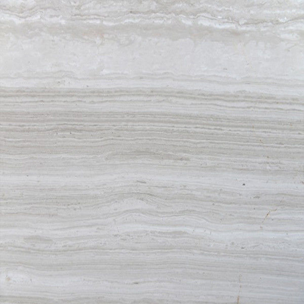 White Wood Long Strip 30mm Wall And Floor Marble Tiles